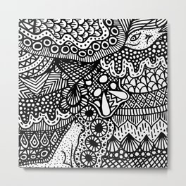 Doodle 13 Metal Print