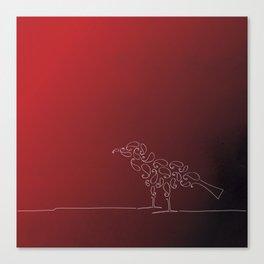 Paisley Bird Canvas Print