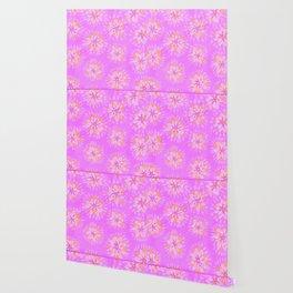 Orange Lilac Rose Wallpaper
