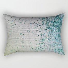 Tickle Me Teal Rectangular Pillow