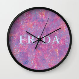 Frida 2 Wall Clock