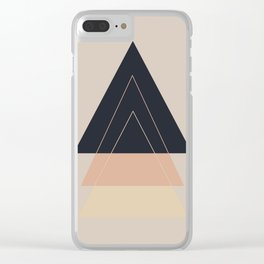 Fear of Separation Clear iPhone Case