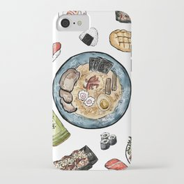 Favourite Japanese Foods iPhone Case