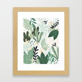 Into the jungle II Gerahmter Kunstdruck