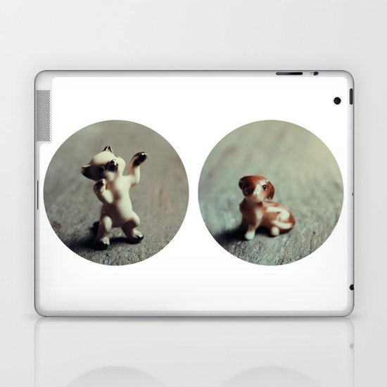 Cats & Dogs Laptop & iPad Skin