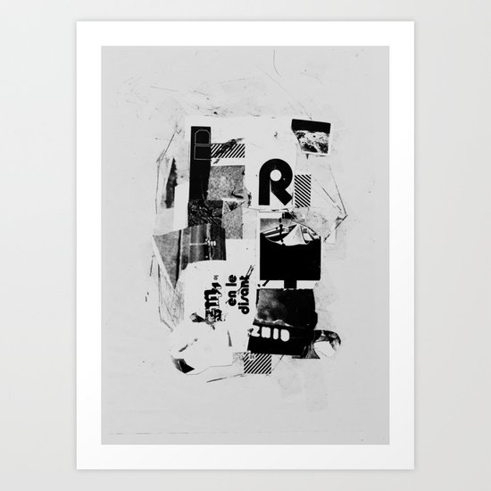 REPLA Y Art Print