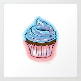 Cup Cake Art Print