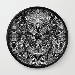 Drawing Floral Zentangle G6B Wall Clock
