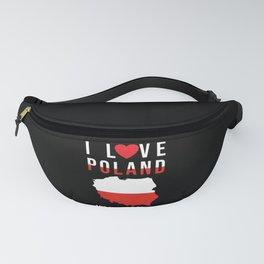 Poland I Love Poland Fanny Pack