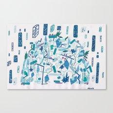 Transparent Age, Something Wild Canvas Print