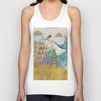 glass Tank Tops featuring Glass by Loezelot