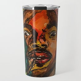 chance the rapper,coloring book,shirt,lyrics,music,art,wall art,cool,dope,colorful,painting,fan art Travel Mug
