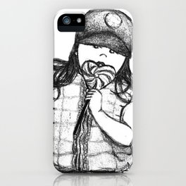 Kayla Bean; Sweets iPhone Case