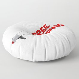 Free Shipping Megaphone Floor Pillow