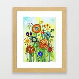 Lollipop Garden Framed Art Print