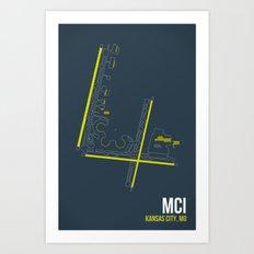 MCI Art Print