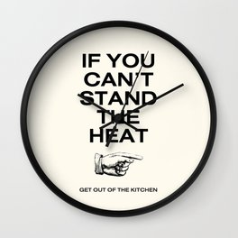 OUT of MY kitchen! Wall Clock