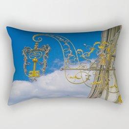 The golden key Rectangular Pillow