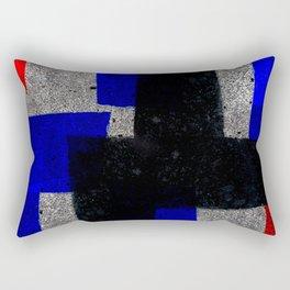 Abstract Tiles Rectangular Pillow