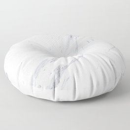 Pure-White-Marble Floor Pillow