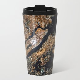 New York City Lights Travel Mug