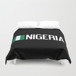 Nigeria: Nigerian Flag & Nigeria Duvet Cover