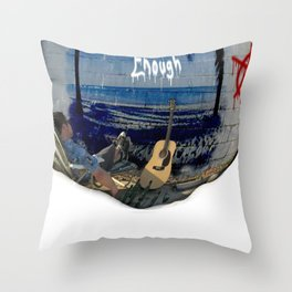 Elevens Enough OHIO Throw Pillow