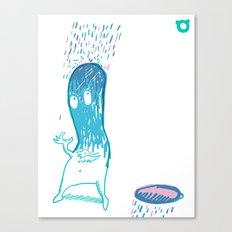 002_rain Canvas Print