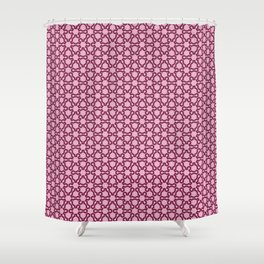 Fractal Lace Shower Curtain