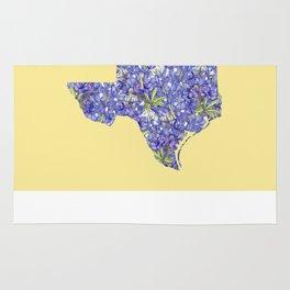 Texas in Flowers Rug
