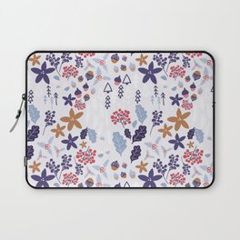 Winter Holiday Pattern Laptop Sleeve