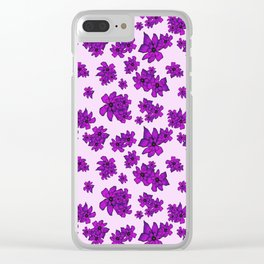 Always Together - Ultra Violet Clear iPhone Case