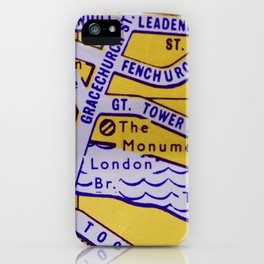 Streets of London 3 iPhone Case