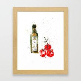 Cucina italiana Framed Art Print