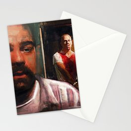 Escape From Sodom - Butch And Zed - Pulp Fiction Stationery Cards