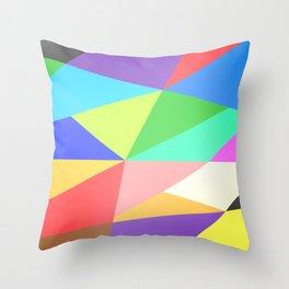 Deconstructivism Throw Pillow