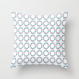 Circle and abstraction 5-,abstract,geometric,geometrical,circle,sphere Throw Pillow