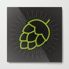 Me So Hoppy Metal Print