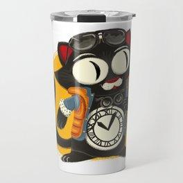 Time Cat Travel Mug
