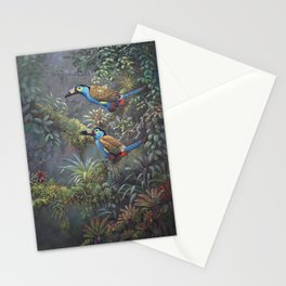 Plate billed mountain toucans  Stationery Cards