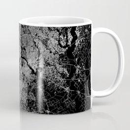 Dallas map Texas Coffee Mug