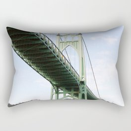 St John's Bridge Portland Rectangular Pillow