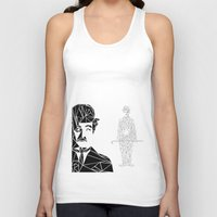 chaplin Tank Tops featuring CHAPLIN by ARCHIGRAF