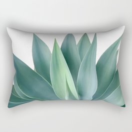 Agave blanco Rectangular Pillow