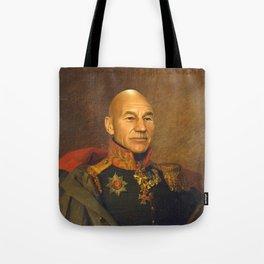 Sir Patrick Stewart - replaceface Tote Bag