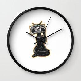BOOM Wall Clock
