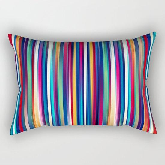 Blurry Lines Rectangular Pillow