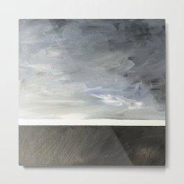 black blue and grey II Metal Print