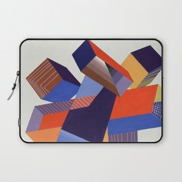 Geometric Painting by A. Mack Laptop Sleeve