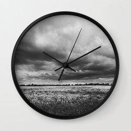 Landscape Photography | Dandelion Field | Canada Wall Clock